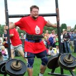 Joni Purmonen lifts and carries an incredible amount of weight