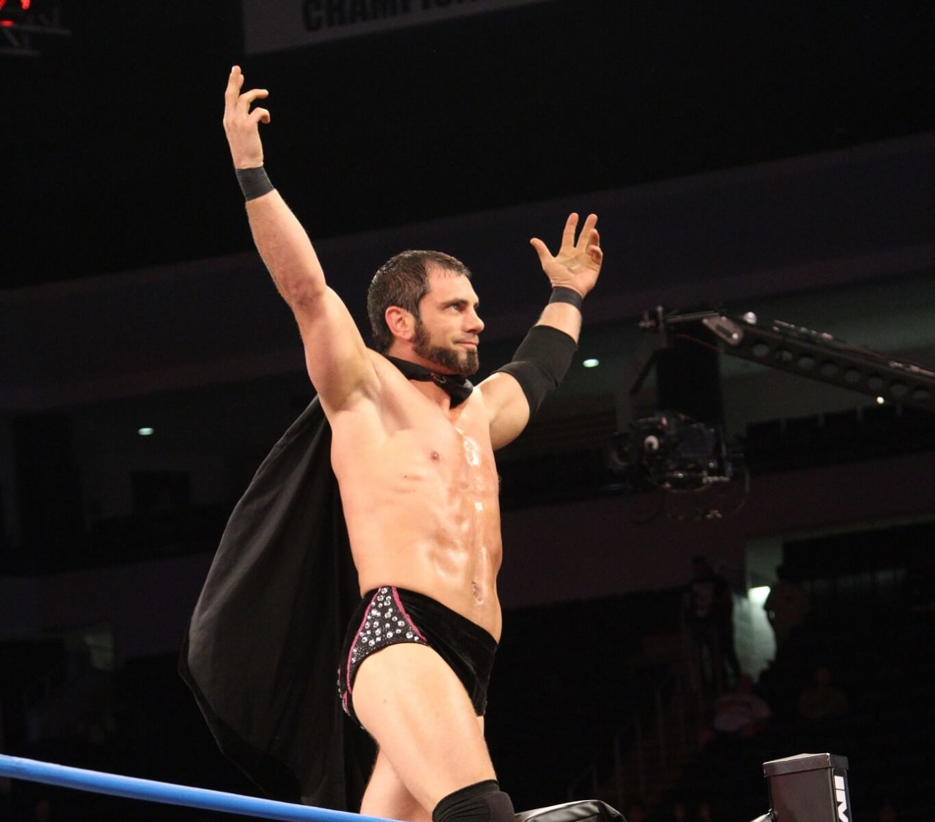 Austin Aries in the ring