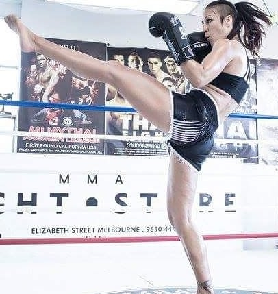 claire foreman kicking