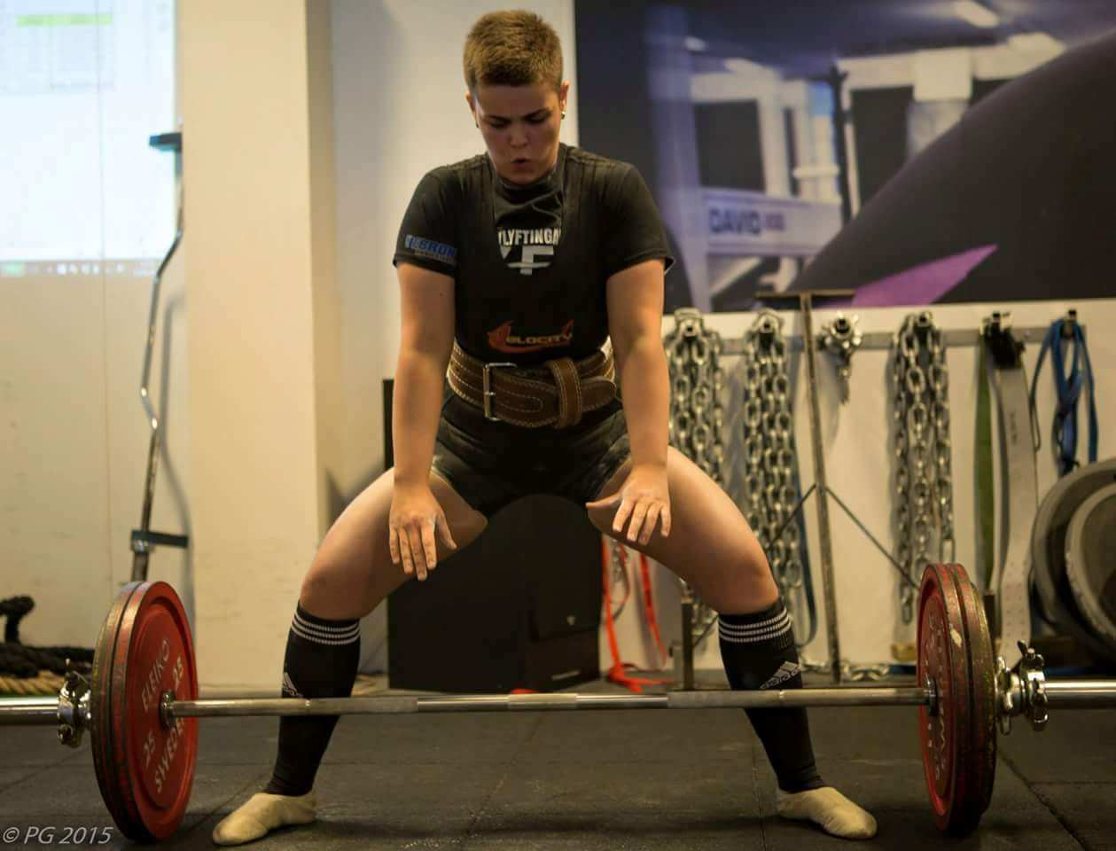 hulda waag deadlift
